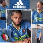Blue Feyenoord Jersey 2019-2020 | Adidas Feyenoord Rotterdam Away Kit 19-20