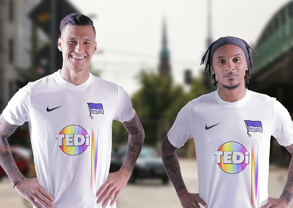 New Hertha Berlin Diversity Jersey 2019- Hertha To Wear