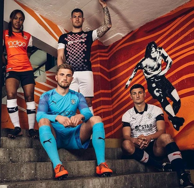 New Luton Championship Kits 2019-2020