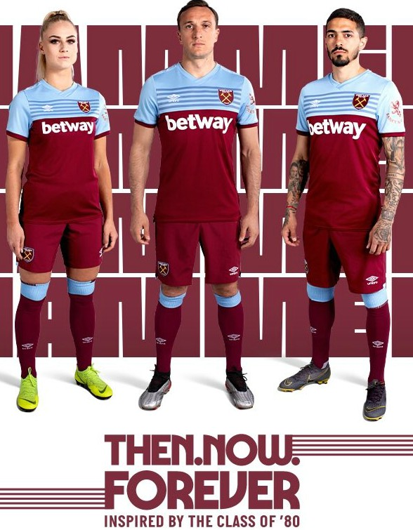 New WHUFC Home Jersey 2019-20