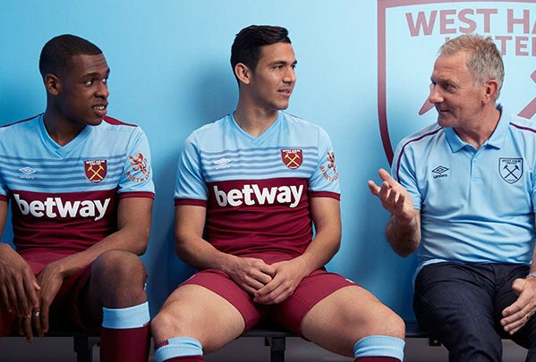 New WHUFC Home Shirt 19-20