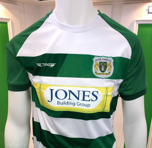 2415e7b33f0 New Yeovil Town Shirt 2019-20 | Tag Sportswear YTFC Kits 19-20 Home & Away