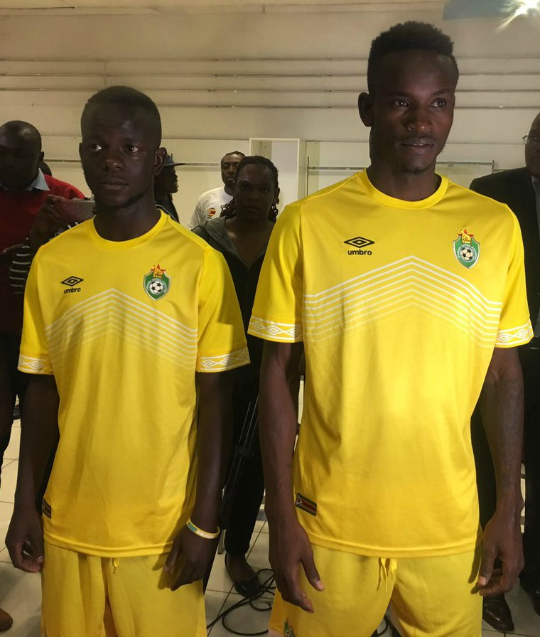 New Zimbabwe AFCON Jersey 2019