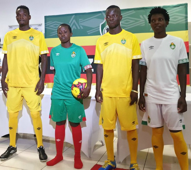 New Zimbabwe Warriors AFCON Kit 2019