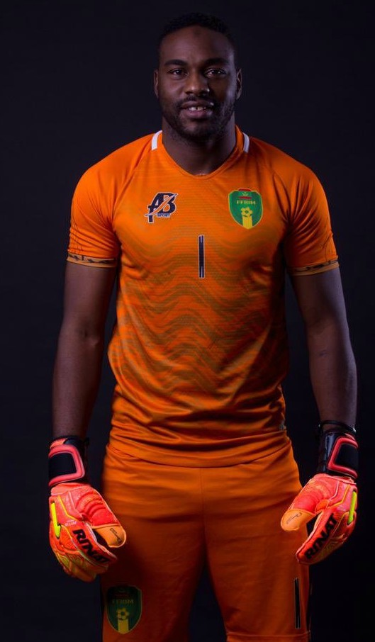 Orange Mauritania Goalkeeper Shirt 2019