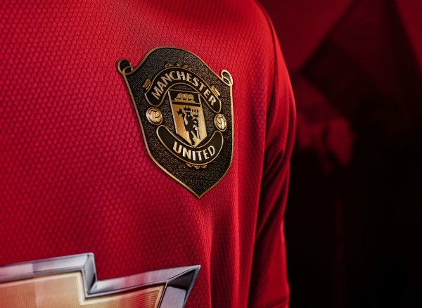 Shield on New United Shirt 2019