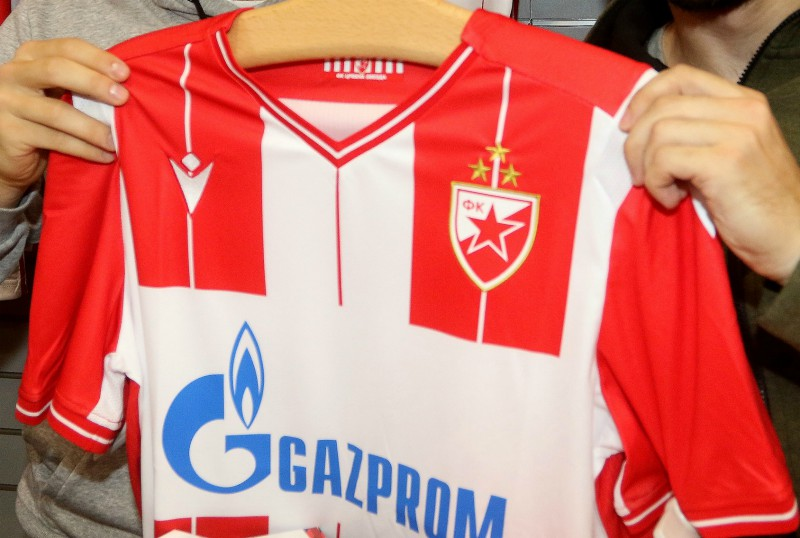 Three Stars Crvena Zvezda Shirt 2019