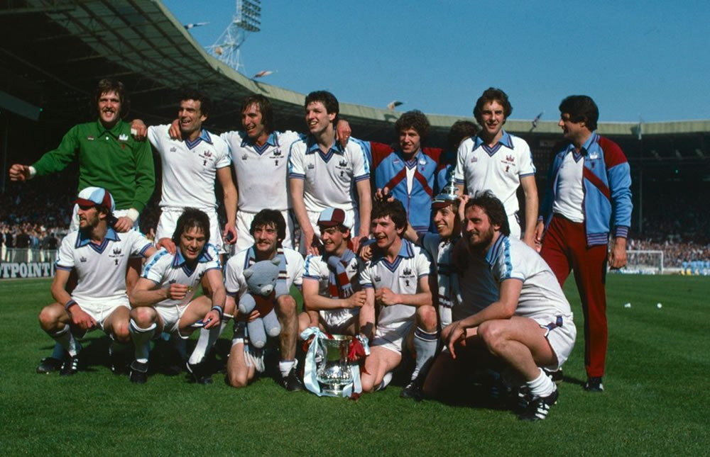 West Ham 1980 FA Cup Win Arsenal