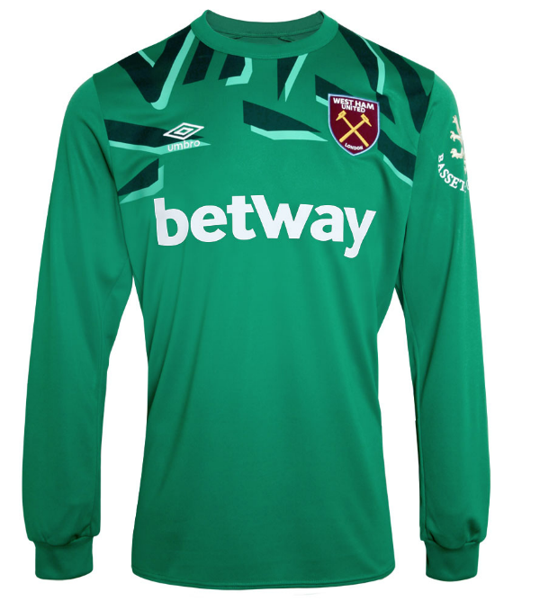 West Ham Goalkeeper Kit 2019-2020