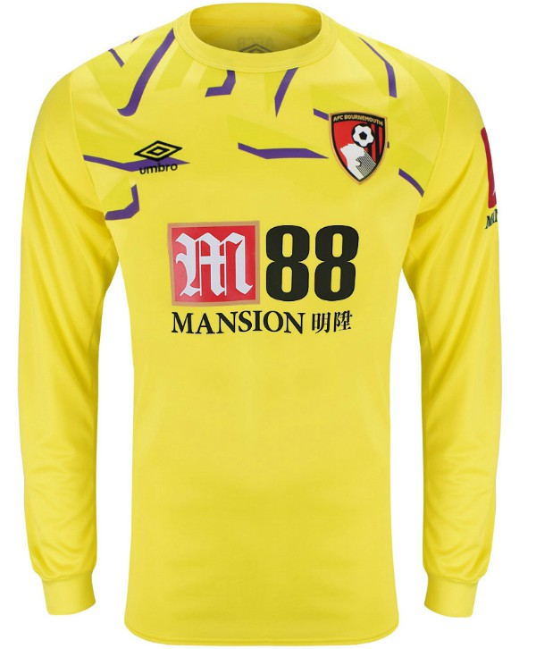 Yellow Bournemouth Goalkeeper Shirt 19-20