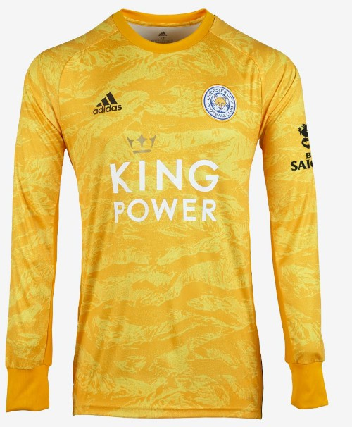 Yellow Gold Leicester Goalkeeper Shirt 2019-2020
