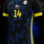 14Fourteen Special Kosovo Kit vs England Euro Qualifying 10 September 2019