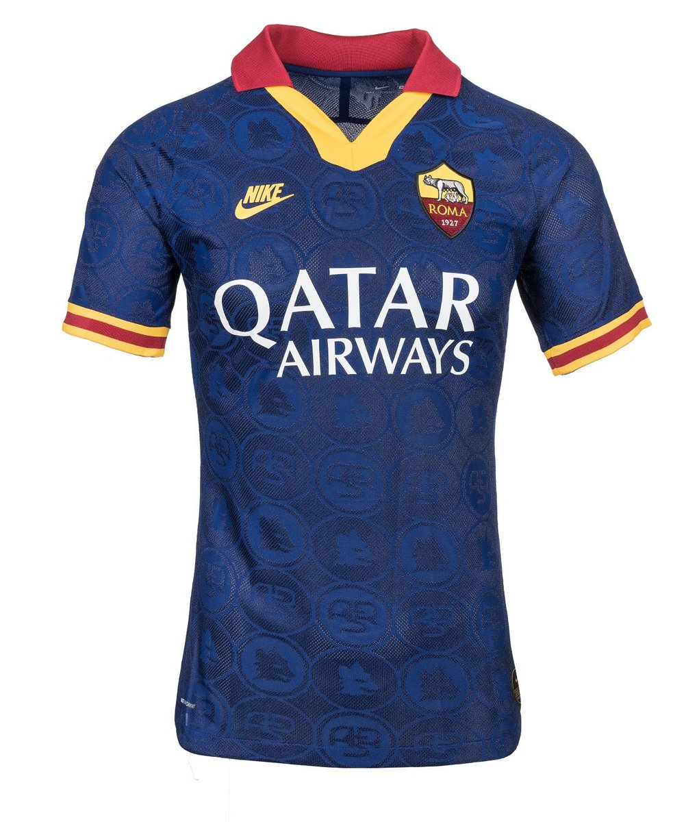 AS Roma Blue Third Jersey 2019-2020
