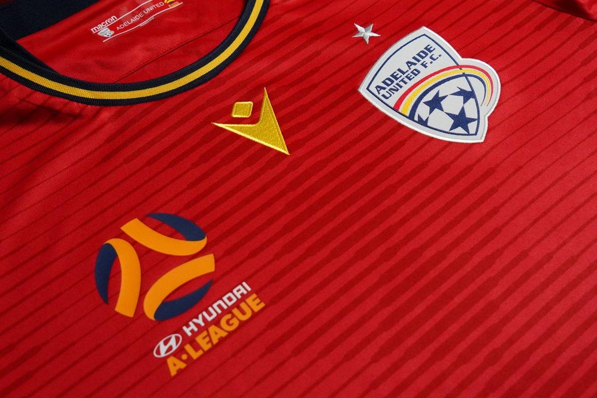 Macron Adelaide United 2019 Shirt