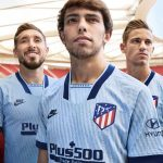 New Blue Atletico Madrid Third Jersey 2019-2020 by Nike