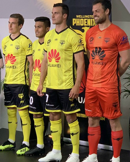 Phoenix A League Paladin Sports Shirt 2019