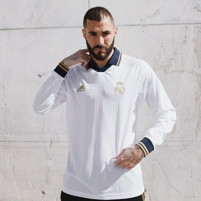 Real Madrid Icon Retro Shirt 2019