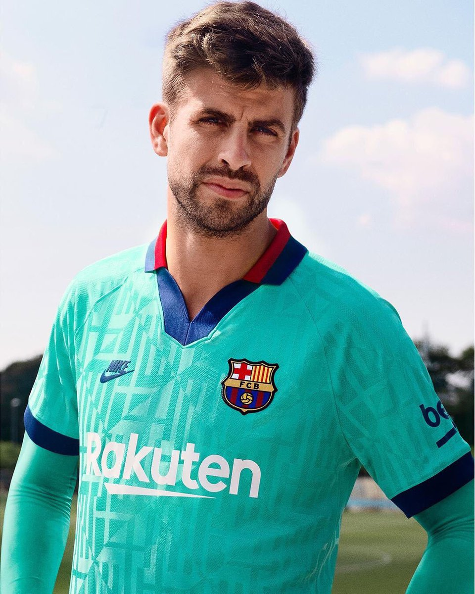 Teal Green Kit Barcelona 2019-20