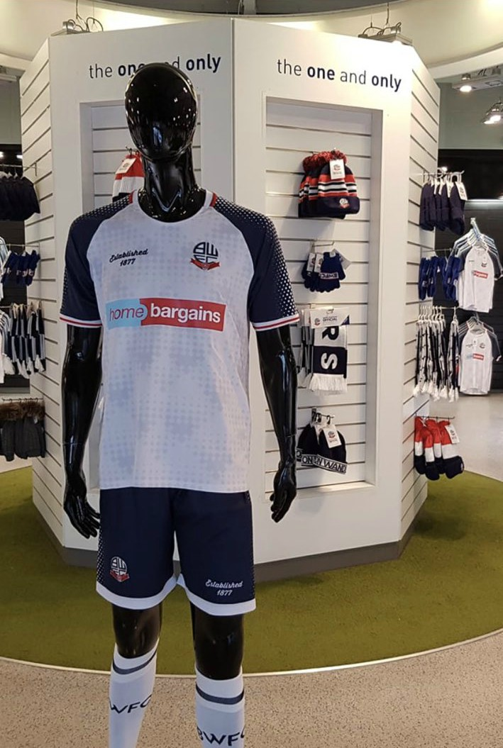 New BWFC Kit 2019-2020 Home Bargains
