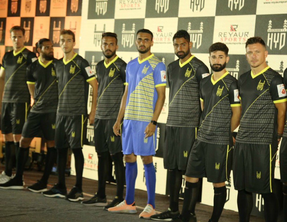 New Hyderabad FC Kit 2019 2020