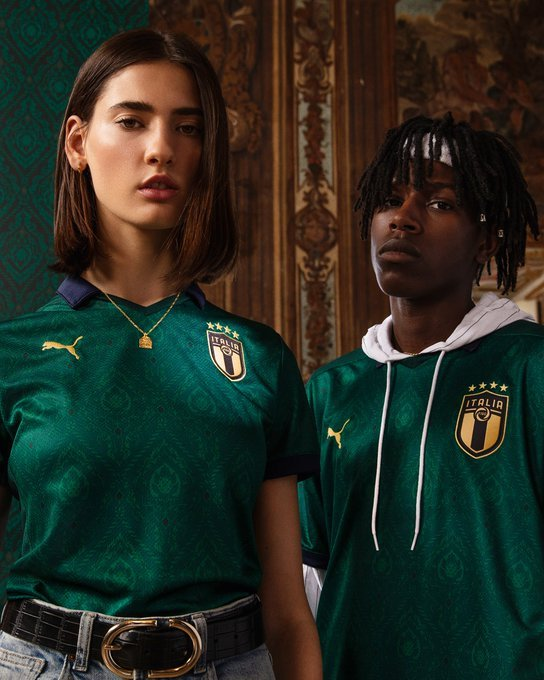 New Italy Third Shirt 2019-20