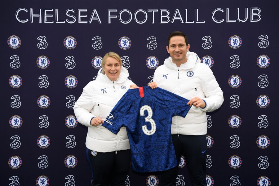 Three Chelsea Shirt Sponsor 2020-21
