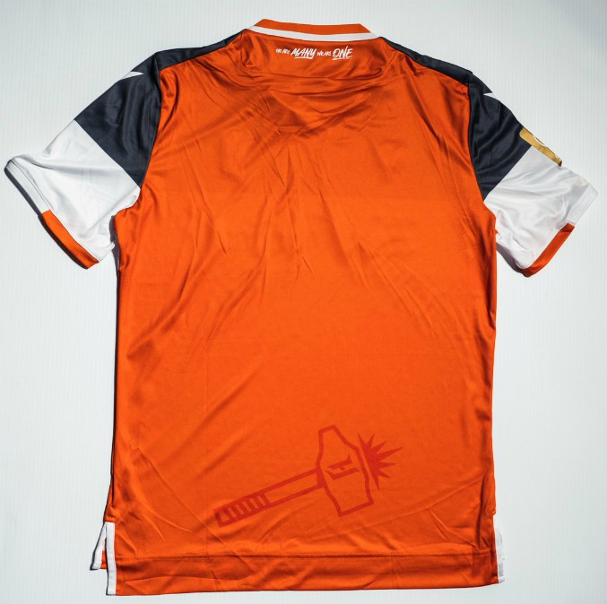 Back of Forge FC Home Shirt 2020