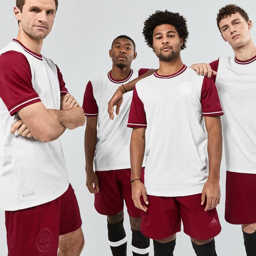 Bayern Munich White Special Jersey 120th Anniversary