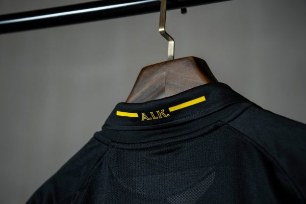 AIK 2020 Home Shirt Closeup