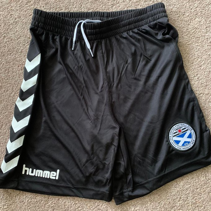 Ayr United Shorts 2020-21 Hummel Black