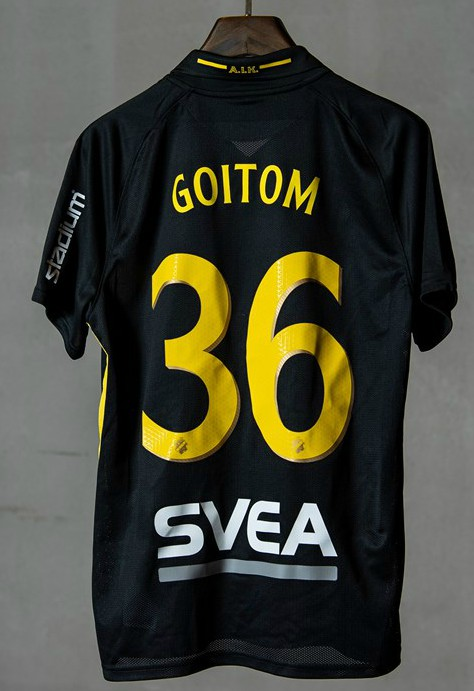 Back of AIK Football Shirt 2020