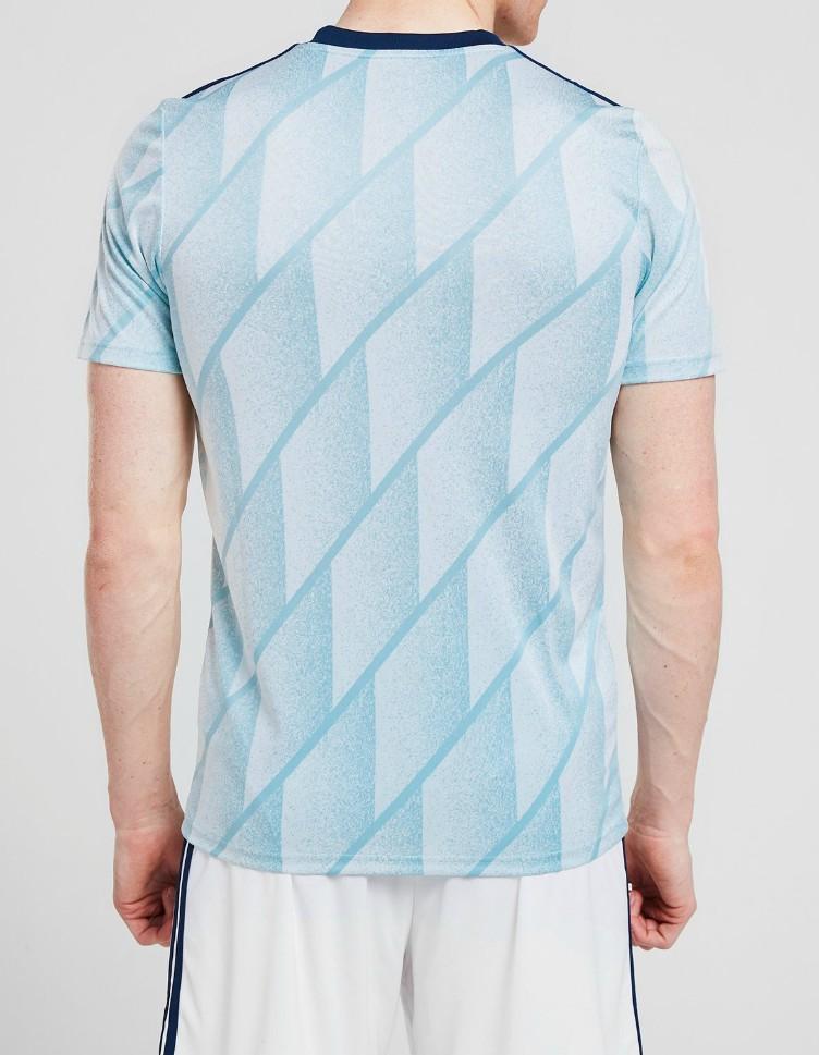 Back of Scotland New Away Shirt Euro 2020