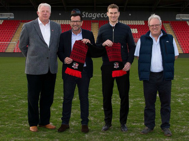 CarpetWright Exeter City Shirt Sponsorship Deal 2020