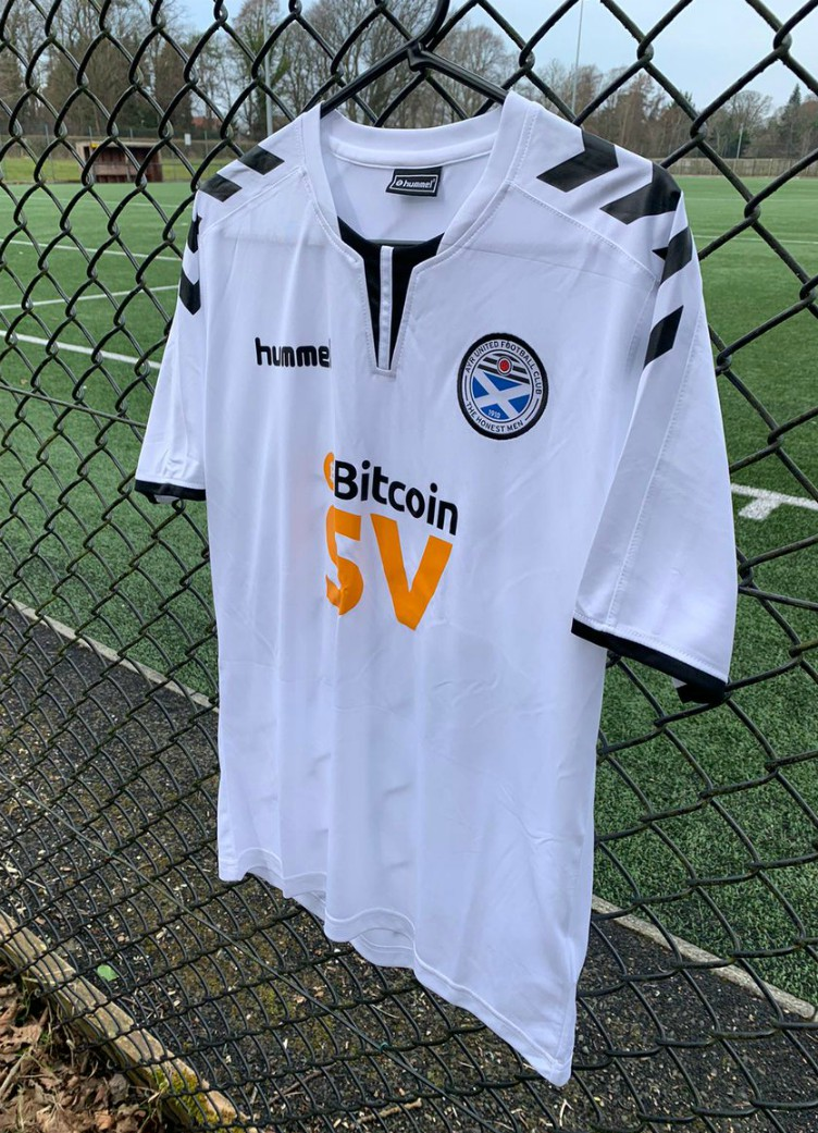 New Ayr United Hummel Strip 2020-2021
