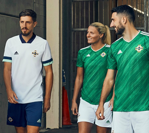White Northern Ireland Away Kit 2020