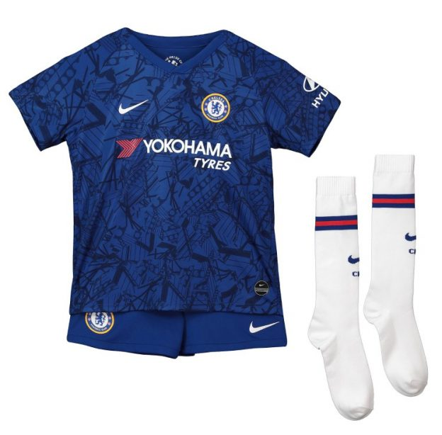 CFC Home Kit 19-20 Combo Blue Shorts White Socks