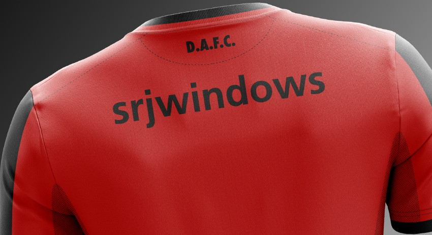 Back of DAFC Away Shirt 20-21