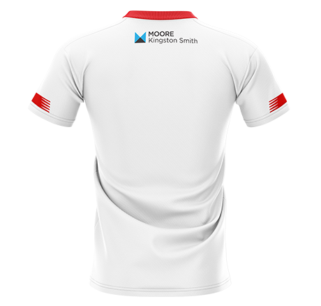 Back of Orient Third Jersey 20-21