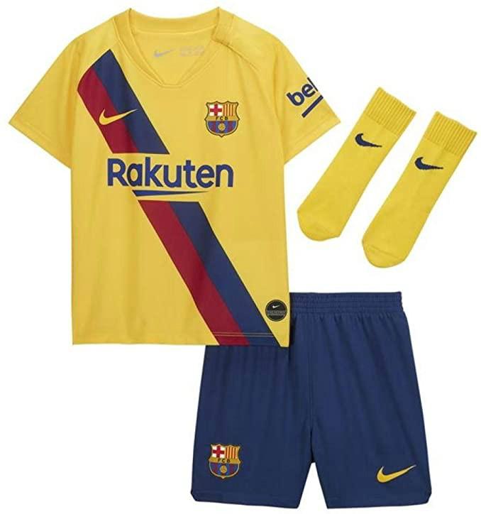 Barcelona Away Baby Kit 2019-2020