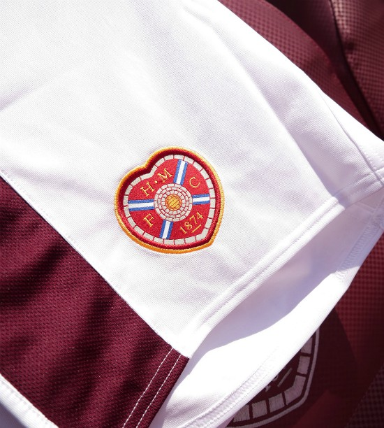 Closeup of HMFC Shorts 2020-21