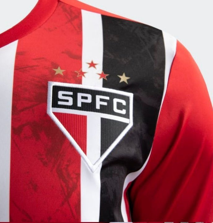 Closeup of Sao Paulo Shirt