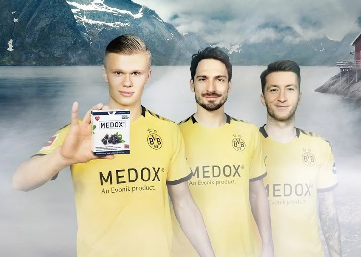 Dortmund Medox Shirt Sponsor