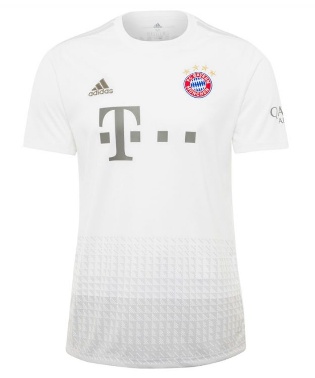 FC Bayern White Away Shirt 2019-20
