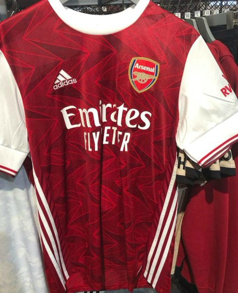 Leaked Arsenal Home Top 2020-21