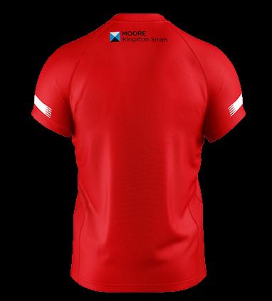 Moore Kingston Smith Leyton Orient Back of Shirt Sponsor