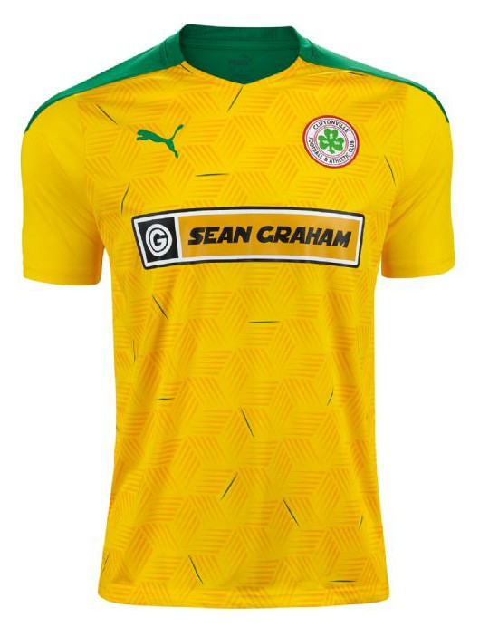 New Cliftonville Away Jersey 2020 Sean Graham Sponsor