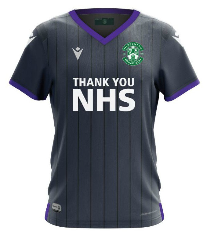 New Hibernian Away Top 2020-2021
