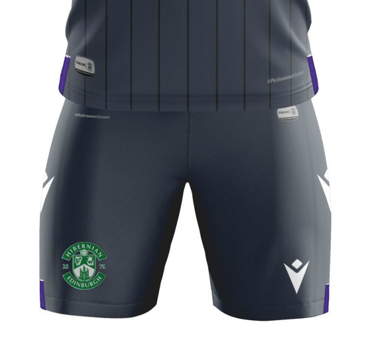 New Hibs Away Shorts 20-21