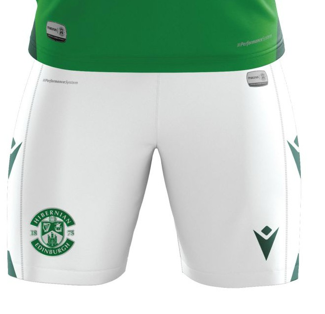 New Hibs Home Shorts 2020-21