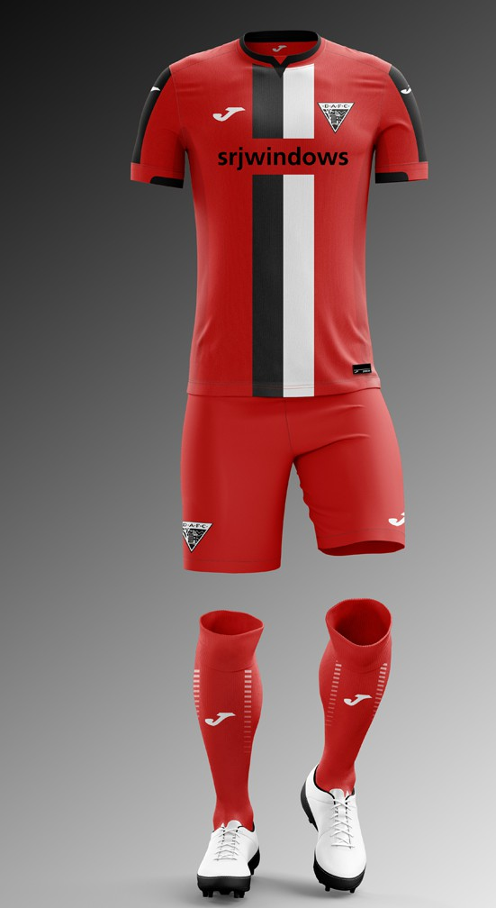 Red Dunfermline Athletic Strip 2020-21
